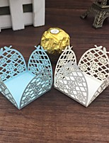 50pcs Love Birds Paper Candy Bar Flower Chocolate Packaging Bar Wedding Decorations Party Favors And Gifts Wedding Supplies