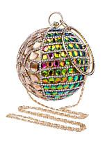 Damen Taschen Ganzjährig Polyester Abendtasche mit Strass Kristall für Hochzeit Veranstaltung / Fest Formal Blau Gold Schwarz Silber