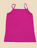 Women's Sports Going out Sexy Summer Tank Top,Solid Boat Neck Sleeveless Cotton Thin