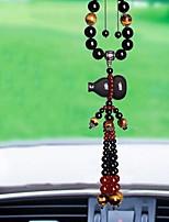 Diy pendentes automotivos gelo natural tipo obsidian símbolo da paz gourd carro pendurado decoração carro pendente&Ornamentos jade /