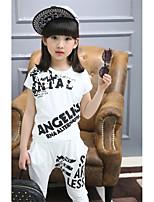Girls' Galaxy Sets,Cotton Summer Short Sleeve Clothing Set