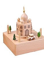 Music Box Famous buildings Wooden
