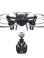 Dron I6W 6 Canales 6 Ejes Con Cámara 720P HD Iluminación LED Retorno Con Un Botón Vuelo Invertido De 360 Grados Flotar Con Cámara