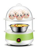 Egg Cooker Double Eggboilers Multifonction Conception verticale Détachable 2 en 1 220V