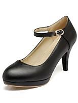 Mujer Tacones Confort Innovador Zapatos formales Semicuero PU Primavera Otoño Boda Casual Vestido Fiesta y Noche Paseo PedreríaTacón