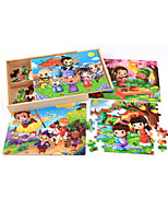 Jigsaw Puzzles Jigsaw Puzzle Building Blocks DIY Toys Others Cartoon Flower Wooden