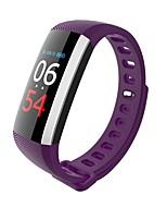 la bracelette intelligente de la femme de yy hommes G19 / pression sanguine / fréquence cardiaque / exercice / imperméable à l'eau pour ios android