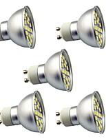 3W Spot LED 29 SMD 5050 350 lm Blanc Chaud Blanc Froid Décorative AC220 V 5 pièces