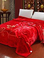 Фланель Цветы Хлопчатобумажная ткань одеяла