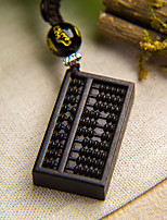 Bag / Phone / Keychain Charm Abacus Cartoon Toy Wooden Chinese Style