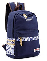 Women Bags All Seasons Canvas Backpack with for Casual Sky Blue