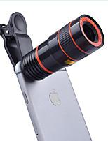 Lentes de câmera de 12x longos telescópio focal lentes de câmera lentes de câmera inteligente 0.65x grande angular 10x lente de olho de