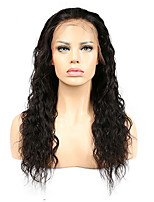 Remy Natural Wave Full Lace Wigs Brazilian Full Lace Human Hair Wigs For Black Women And Natural Hairline Baby Hair