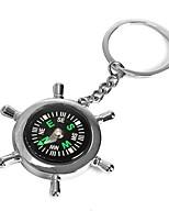 Ziqiao лодка руля колесо компас брелок новинка брелок цепь брелок цинковый сплав подарок