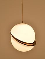 Tête unique en Europe style créatif métal contracté avec lampe suspension en forme de pvc pour la salle d'entrée / entrée / cantine