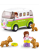 Building Blocks For Gift  Building Blocks Car Plastics 6 Years Old and Above Toys