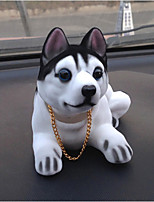 DIY Automotive Pendants Dolls Shaking His Head Dog Decoration Supplies Cute Creative Puppies Husky Car Pendant & Ornaments Resin
