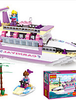 Building Blocks For Gift  Building Blocks Ship Plastics ABS 6 Years Old and Above Toys