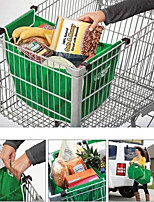 1PCS  As Seen On TV Grocery Grab Shopping Bag Foldable Tote Eco-friendly Reusable Large Trolley Supermarket Large Capacity Bags