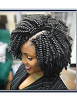 Фигурные плетенки Надувной Curl Афро Кудри Джерри Керл Косы в технике Кроше Кудрявый Коса с омбре Волосы в ямайском стиле 100% волосы