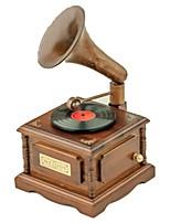 Music Box Phonograph Wooden
