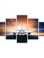 Five Panels Horizontal Print Wall Decor For Home Decoration