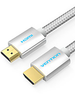 VENTION HDMI 2.0 Кабель, HDMI 2.0 to HDMI 2.0 Кабель Male - Male 4K*2K 1.5M (5Ft)
