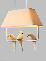 Lâmpada de sala de jantar / estilo pós-moderno / lodge natureza inspirada chique&Característica de pintura retro tradicional /