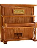 Music Box Piano Wood