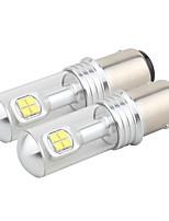 2pcs 1157/H4 40W 8led Fog Lights 6000K DRL Turn Signals Light Bulbs Day Running Light Steering Light Tail Light DC12-24V