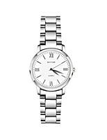 Жен. Модные часы Кварцевый сплав Группа Серебристый металл
