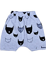 Boys' Print Pants-Cotton Summer Shorts Cartoon Kids Boys Pants Clothes