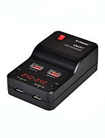 USB-Ladegerät 4 Ports Schreibtisch Ladestation Mit Switch (es) Mit Smart Identification LCD-Display Universal Ladeadapter