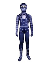 Cosplay Costumes Spider Movie Cosplay Leotard/Onesie Zentai Halloween Christmas Carnival Children's Day Kids Lycra Spandex