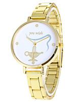 Жен. Спортивные часы Армейские часы Модные часы Повседневные часы Наручные часы Уникальный творческий часы Кварцевый Нержавеющая сталь