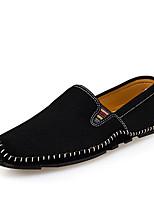 Для мужчин Мокасины и Свитер Для прогулок Удобная обувь Светодиодные подошвы Бархатистая отделка Осень ЗимаСвадьба Повседневные Для