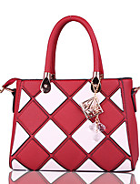 Women Bags All Seasons PU Tote with for Formal Office & Career Blue Black Red Blushing Pink Purple
