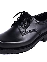 Men's Oxfords Formal Shoes Fall Winter Cowhide Casual Outdoor Party & Evening Black 1in-1 3/4in