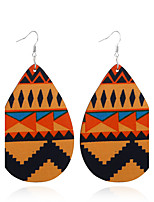 Women's Earrings Set Basic Geometric Vintage Wood Alloy Jewelry For Gift Evening Party Stage Club Street