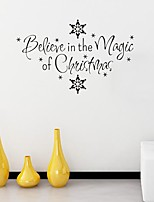 Christmas Holiday Wall Stickers Plane Wall Stickers Decorative Wall Stickers,Paper Material Home Decoration Wall Decal