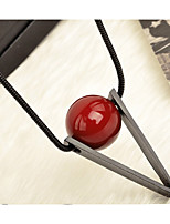 Жен. Ожерелья с подвесками Треугольной формы Искусственный жемчуг Мода Бижутерия НазначениеСвадьба Для вечеринок Halloween День рождения