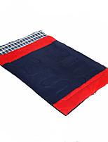 Sleeping Bag Rectangular Bag Double -10-5 Hollow CottonX145 Camping / Hiking Keep Warm Portable Lightweight Anti-tear