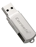 Caraele Metal Rotary Fat Man USB2.0 64GB Flash Drive U Disk Memory Stick