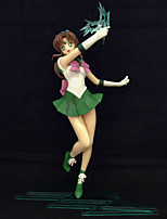 Anime Action Figures Inspired by Sailor Moon Makoto Kino PVC CM Model Toys Doll Toy 1pc