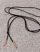 Жен. Ожерелья с подвесками Плюшевая ткань Мода Бижутерия Назначение Для вечеринок День рождения Повседневные Офис Для клуба