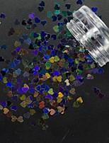 Purpurina Efeito 3D Artigos DIY peças Acessórios Paetês Descanso para Mãos para Manicure