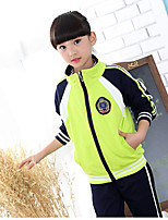 Boys' Stripe Sets,Cotton Fall Long Sleeve Clothing Set