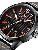 Муж. Спортивные часы Армейские часы Модные часы Наручные часы Уникальный творческий часы Повседневные часы Кварцевый Календарь