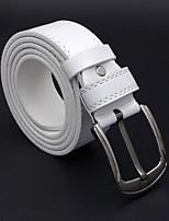 Men's Alloy Waist Belt,Simple Casual Fashion Solid
