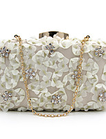 L.WEST Women's fashion flower evening bag